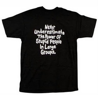 funny t-shirt quotes underestimate