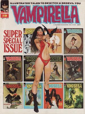 Vampirella - przykład klasycznej pulp heroiny.