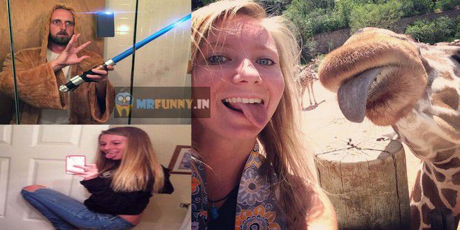 Funny Selfies and Crazy Selfies
