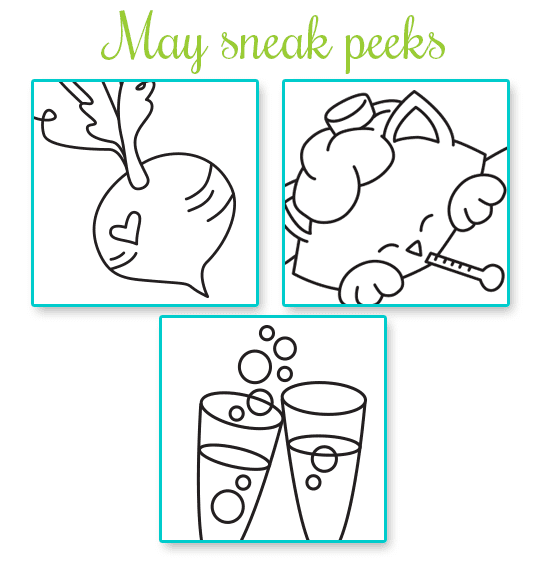 May 2015 Release Sneak Peeks | Newton's Nook Designs