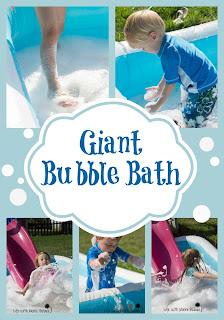 Life with Moore Babies ~ Giant Bubble Bath