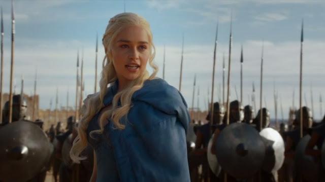 Danerys Targaryen pronunciando el discurso en alto Valyrio - Juego de Tronos en los siete reinos