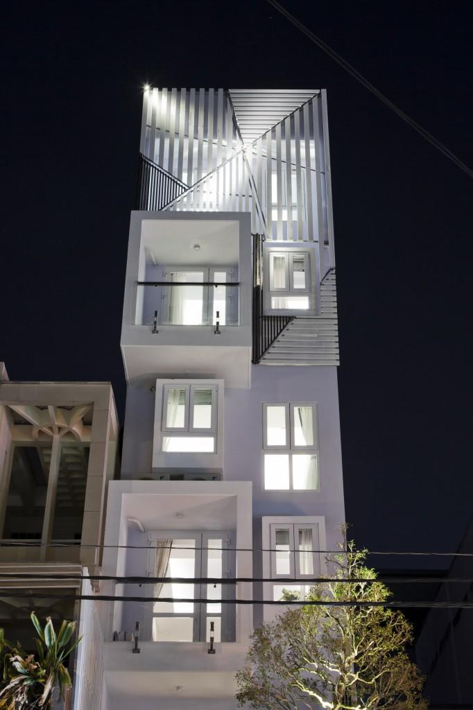 Lung linh với kiểu thiết kế nhà hiện đại phu phố Thị Tứ Quận Bình Tân