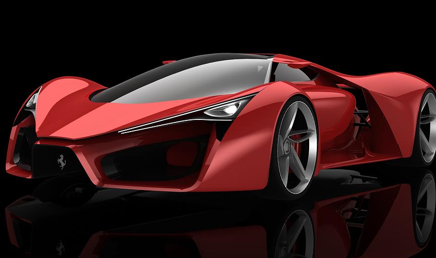 Universe Auto Sales >> Ferrari F80 a ultra sleek Supercar Concept | Auto Universe | Tips Auto Car