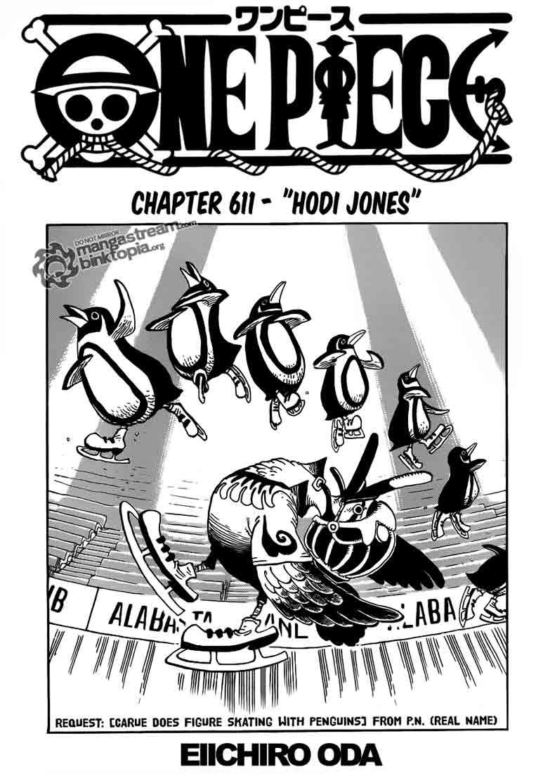 01 One Piece 611   Hodi Jones