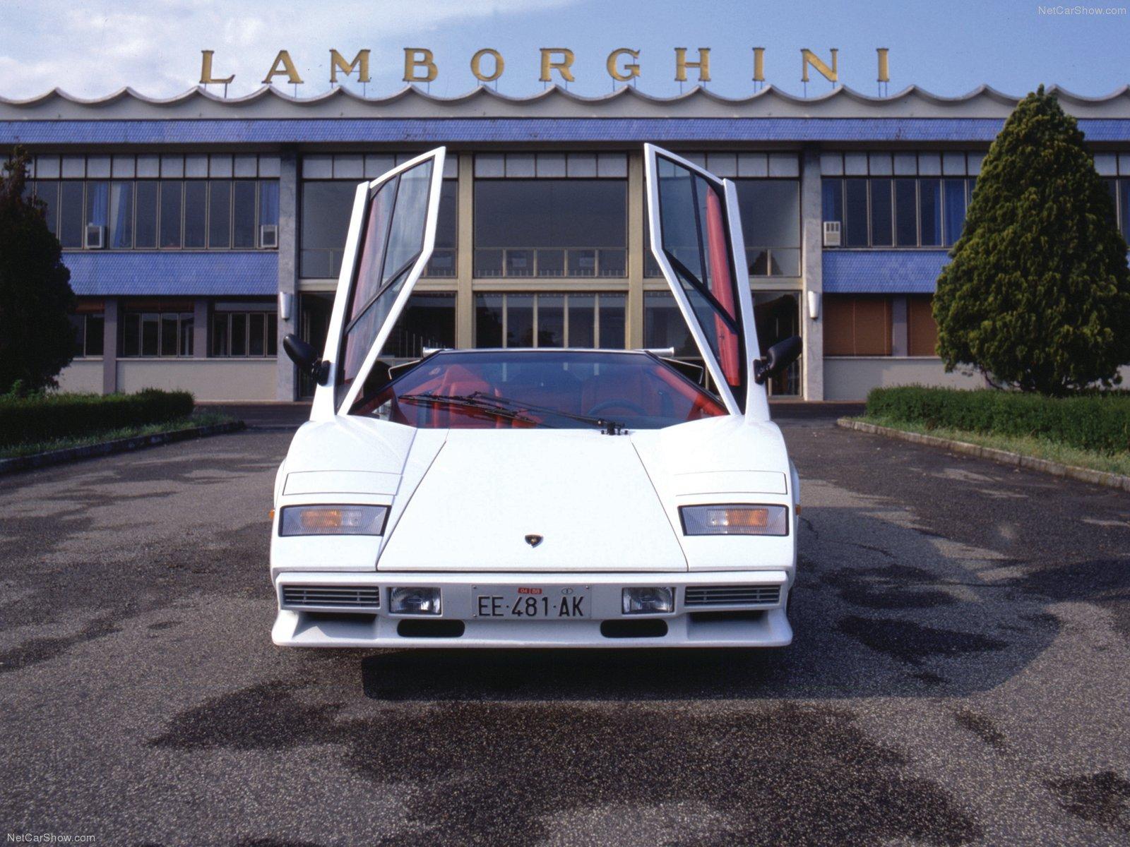 Hình ảnh siêu xe Lamborghini Countach Quattrovalvole 1985 & nội ngoại thất