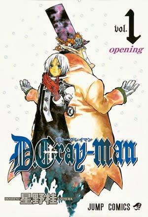 D.Gray-Man Mangá 01 ao 218 Português