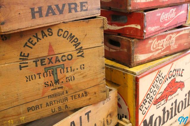 Caisse En Bois Vintage : Razzia sur les caisses en bois! Marinette Vintage Blog