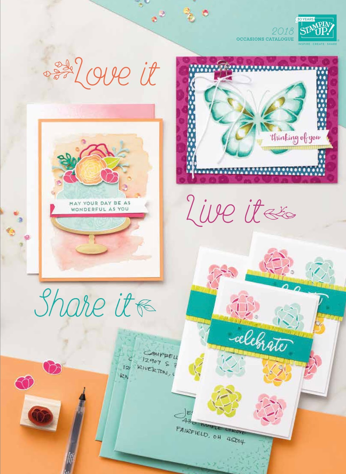 Stampin' Up! 2018 Occasions Catalogue