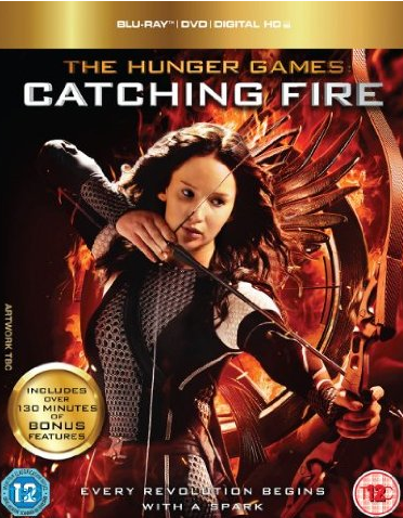 Catching Fire Dvd Cover This features both dvd and