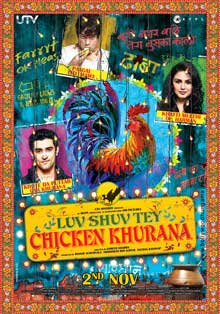 Luv Shuv Tey Chicken Khurana (2012) Movie Poster