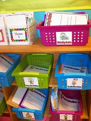 Serenade To Second Grade Literacy Work Stations Centers