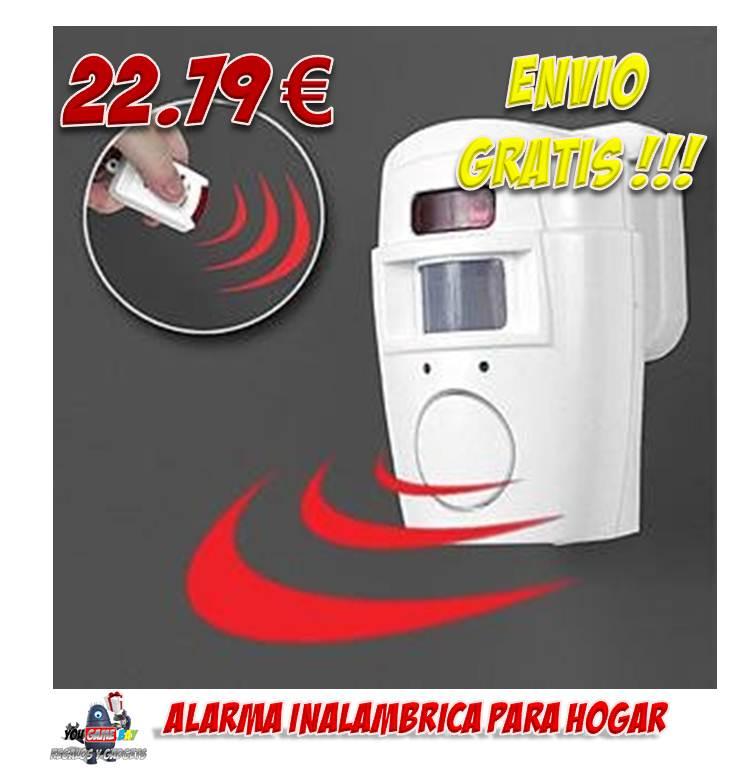 Regalos y gadgets originales y baratos comprar alarma - Sensores de movimiento con alarma ...