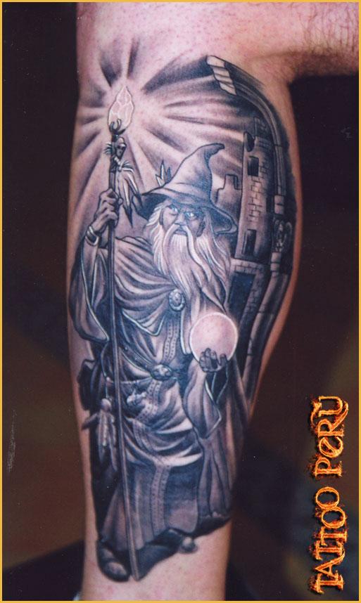 Wizard Tattoo Fresh Tattoo Ideas