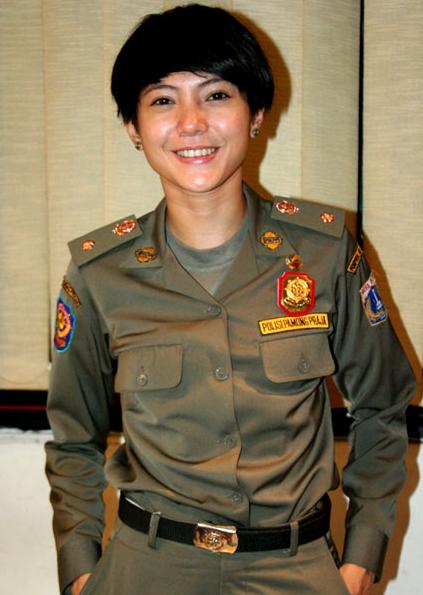 Foto Cantik Satpol PP Wanita Indonesia :