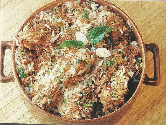 Delicious Hyderabadi Biryani Khass