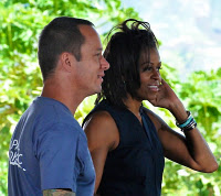 MICHELLE OBAMA Throws Organic Hawaiian Pizza Party