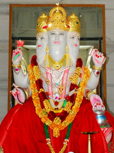 देवी सावित्री का ब्रह्मा जी को अभिशाप