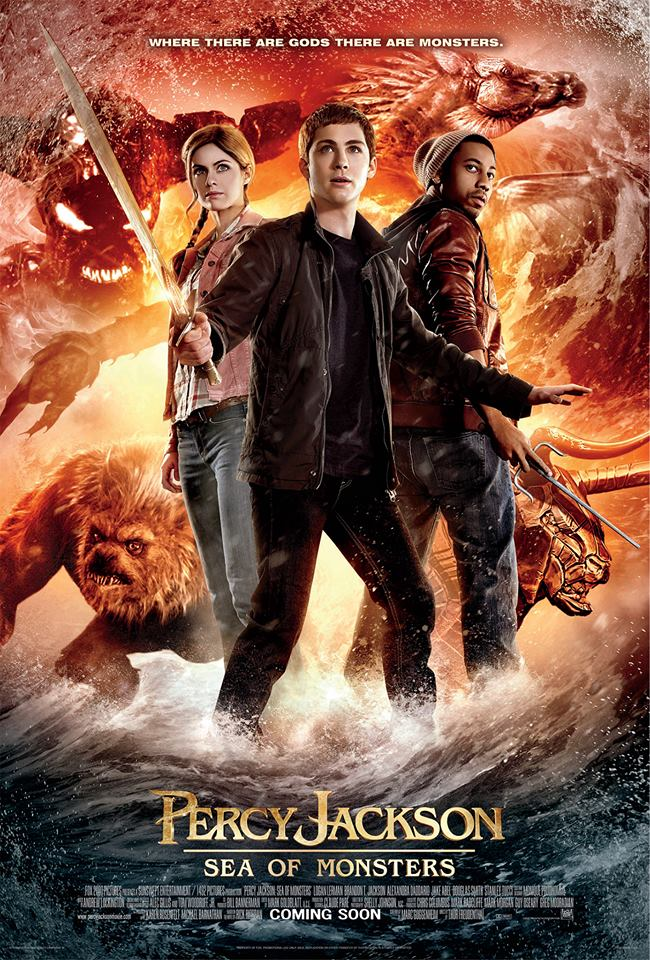 Percy Jackson: Sea of Monsters International Poster