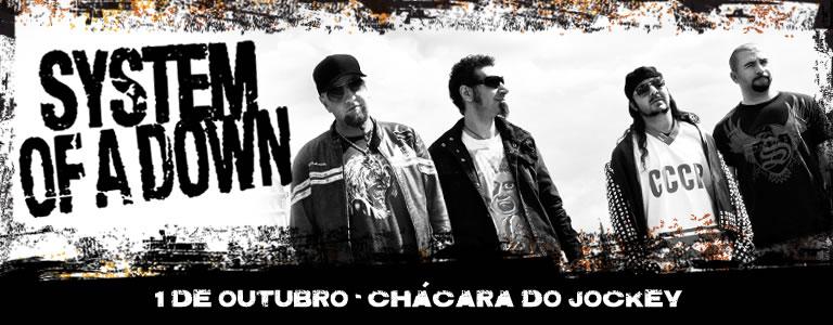 World Needs Rock!: System Of A Down no Brasil em dose duuuuuupla