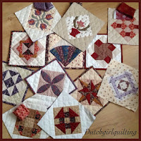 Centennial Sampler wordt potholder Quilt