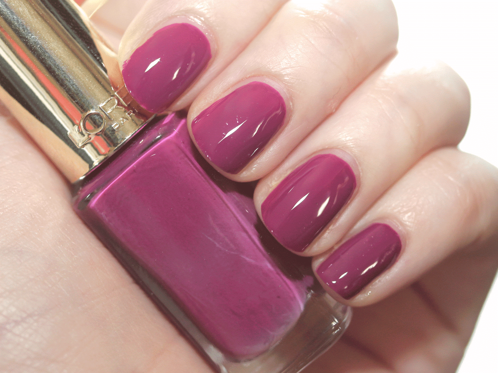 Makeup, Beauty & Fashion: NAILS OF THE DAY: L'OREAL PARIS COLOR ...