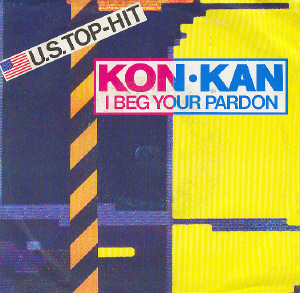 I Beg Your Pardon Vinyl Single Front Sleev