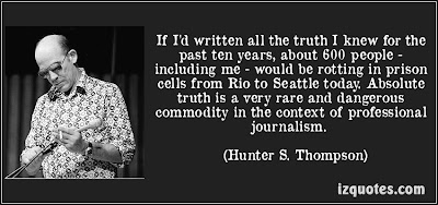 Essays about hunter s. thompson