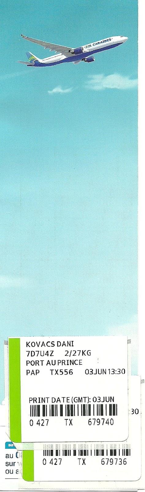 The traveler 39 s drawer air cara bes carte d 39 acc s bord - Vol paris port au prince air caraibes ...