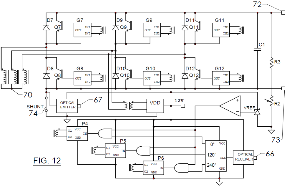 FIG. 12 - Schematic Diagram Auxiliary