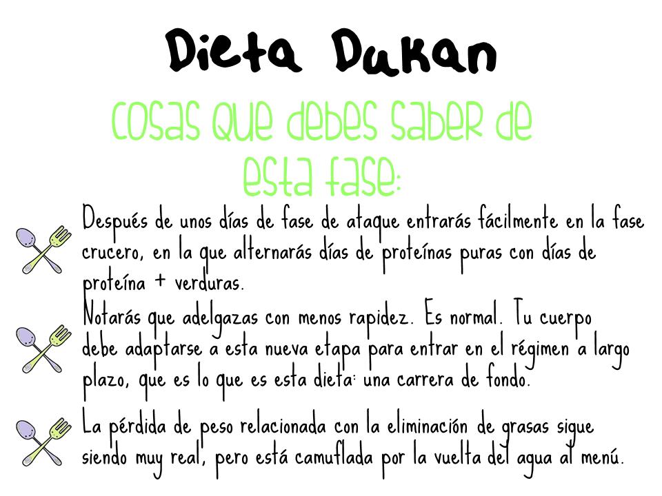 Dieta dukan fase crucero lo que debes saber lista de - Alimentos permitidos fase crucero ...
