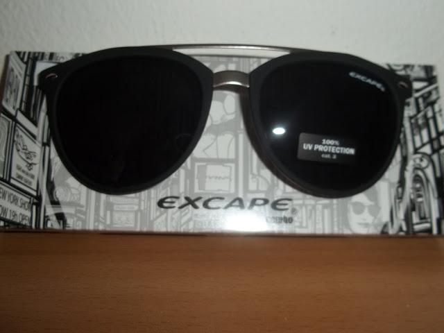 i miei nuovi occhiali excape