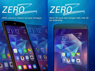 Free Download Android Theme ZERO Launcher .APK Full