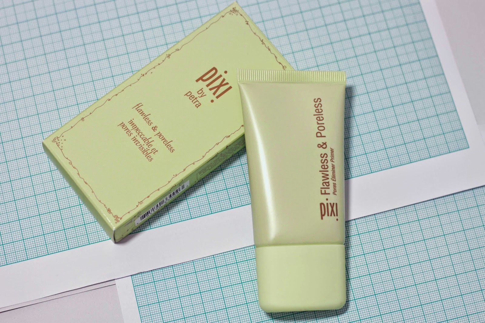 BEAUTY : PIXI BY PETRA FLAWLESS AND PORELESS PRIMER