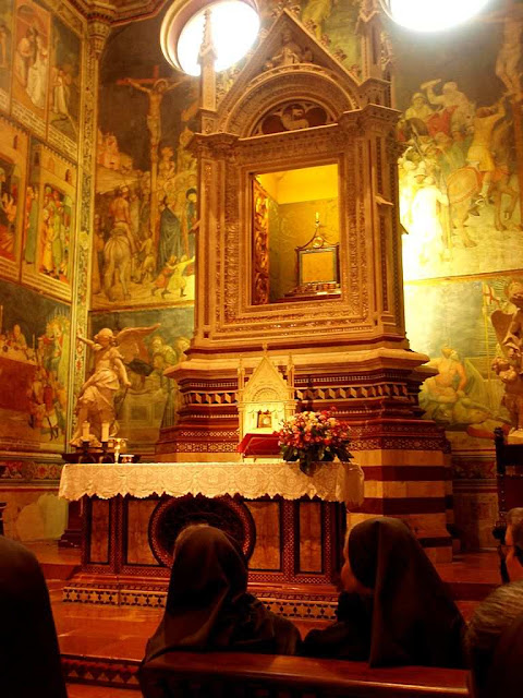 Orvieto, capela do corporal