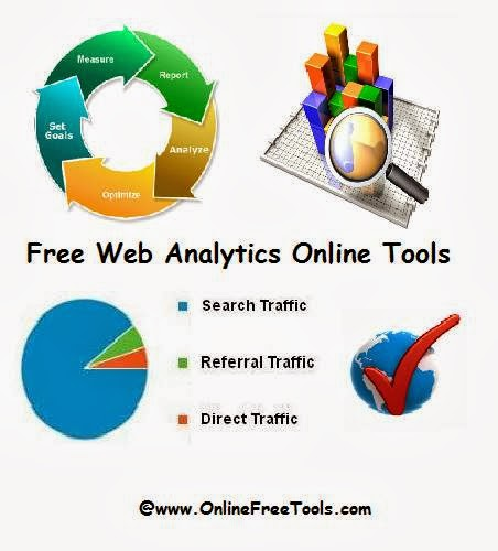 15 Free Web Analytics Tools to Choose from - Online Free Tools