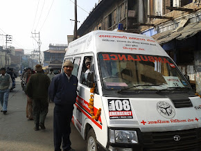 19 AMBULANCE FACILITY PROVIDED AT FREE OF COST BY SP TO ALIGARH