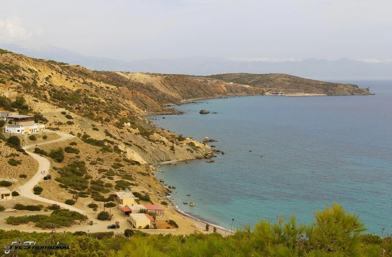 Korfos beach, Gavdos - Παραλία Κόρφου, Γαύδος