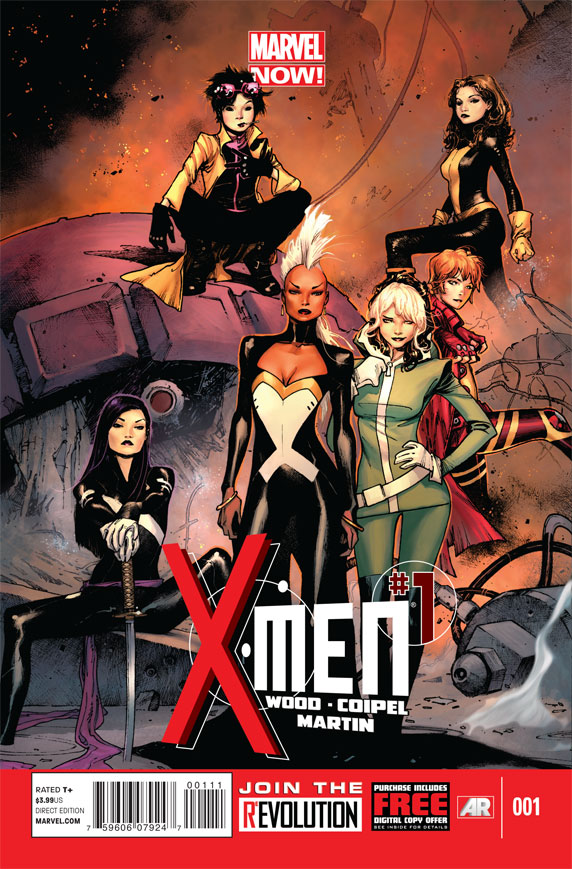 X-MEN #1 NOW (BRIAN WOOD)