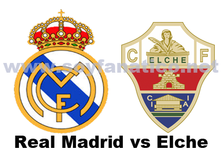 Real Madrid vs Elche por Liga BBVA 23/09/2014