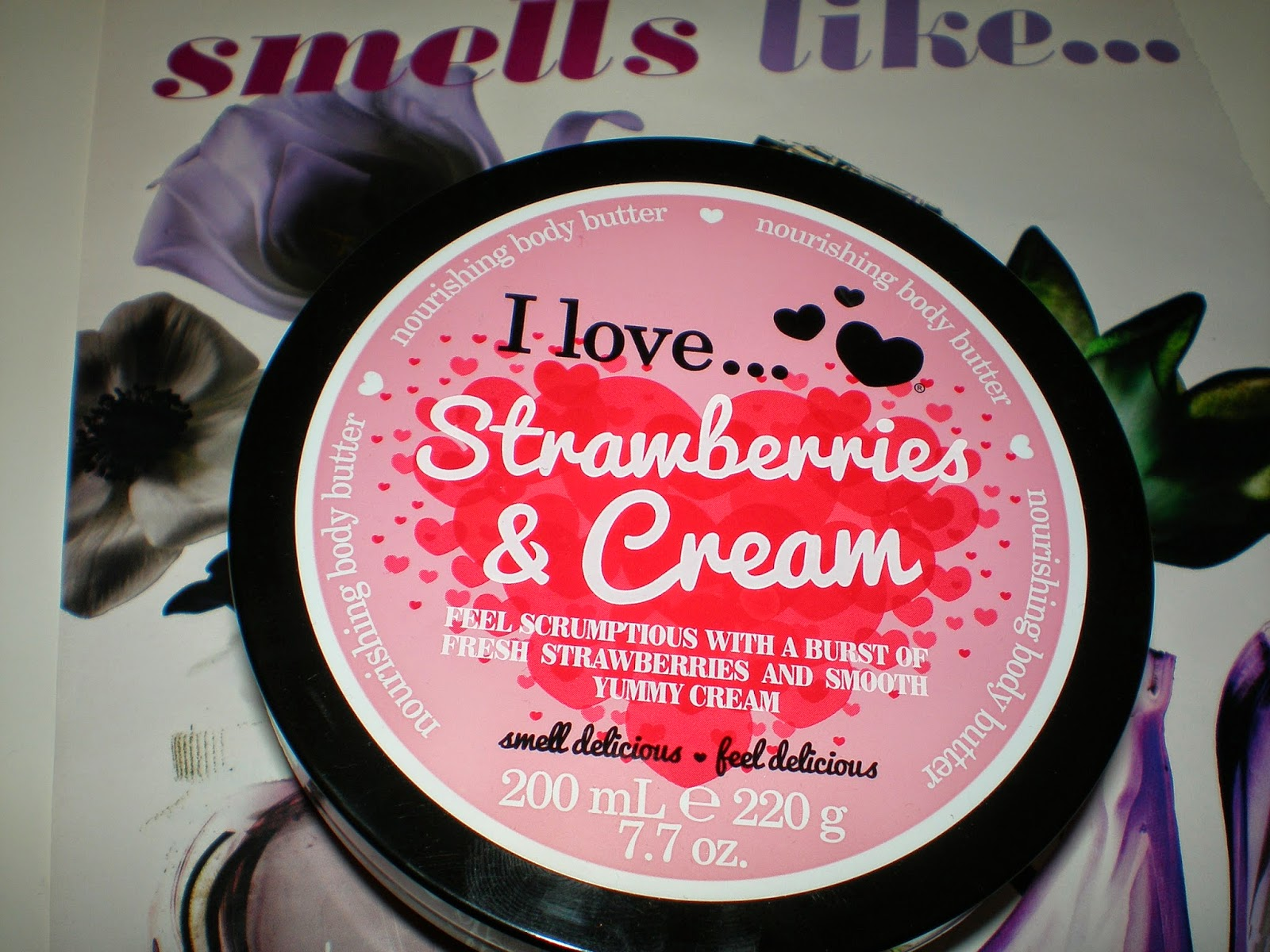 I love... Body Butter Strawberries and Cream