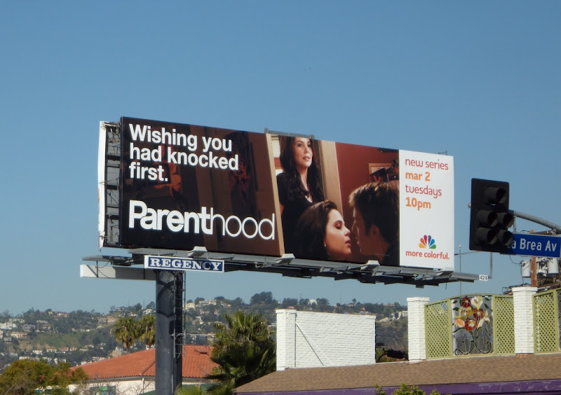 Parenthood knock first billboard