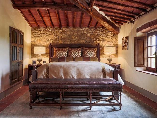 Estilo rustico casa rustica en la toscana - Casas estilo rustico ...