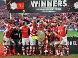 Arsenal win 2015 Community Shield