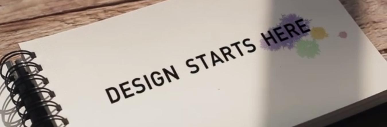 O Design começa aqui