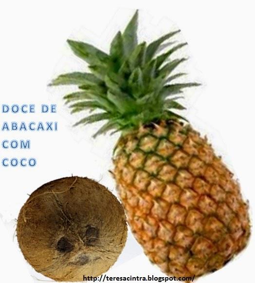 DOCE COM A CASCA DO ABACAXI