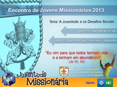 Encontro de Jovens Missionários em Natal (RN)