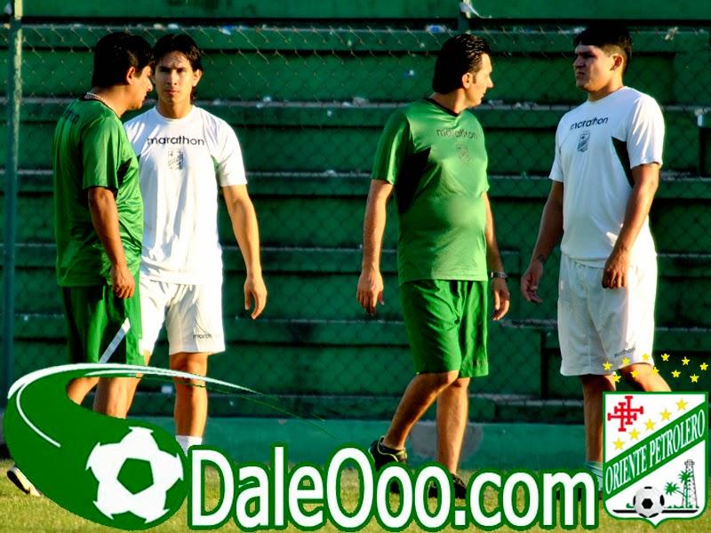 Oriente Petrolero - Marvin Bejarano - Richar Estigarribia - DaleOoo.com web del Club Oriente Petrolero