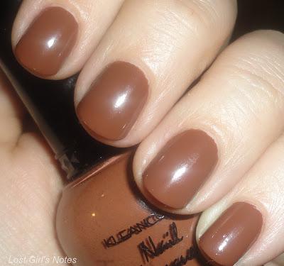kleancolor cappuccino nail polish