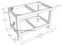 Estructura de mesa, www.enredandonogaraxe.com